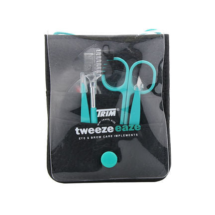 Trim Tweezeeaze 5 Piece Eye & Brow Travel Set - FabFinds