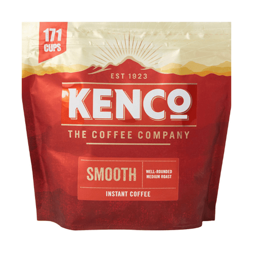Kenco Smooth Instant Coffee Eco Refill Pack 275g