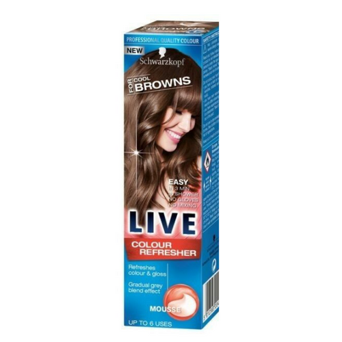 Schwarzkopf Live Colour Refresher Cool Browns Mousse