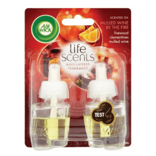 Air Wick Air Freshener Mulled Wine Plug-In Electrical Refill Twin Pack 19 ml