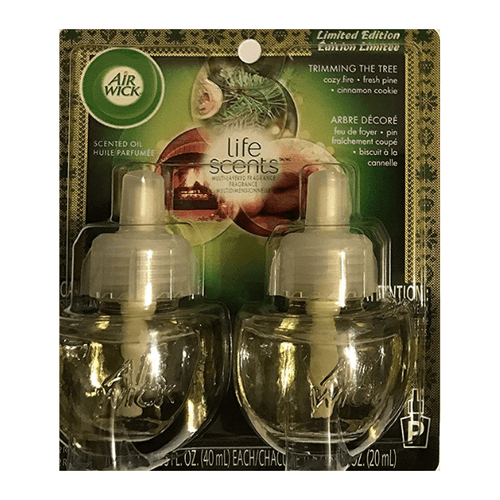 Air Wick Plug in Electrical Refill Twin Pack Trimming the Tree 19ml