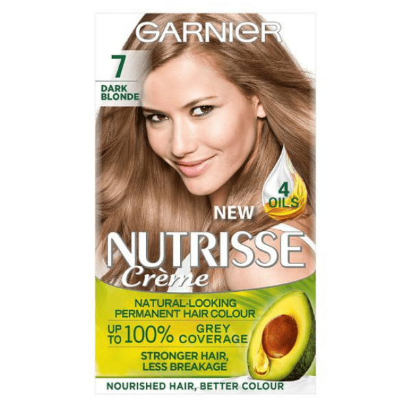 Garnier Nutrisse Creme Dark Blonde 7 Permanent Hair Dye - FabFinds