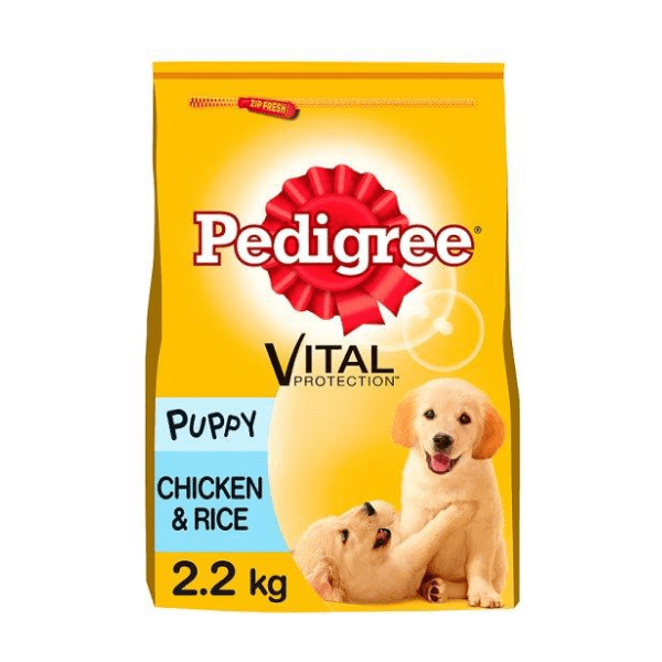 Pedigree Chicken And Rice Dry Puppy Food 2.2Kg - FabFinds