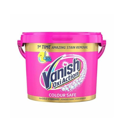 Vanish Gold Oxi Action Powder Pink Fabric Stain Remover 2.4kg - FabFinds