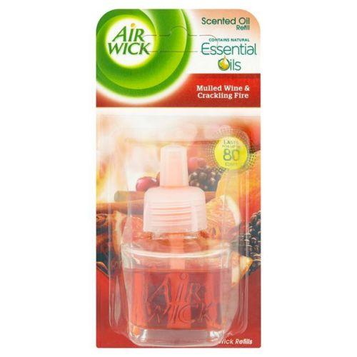 Air Wick Plug-in Electrical Refills Mulled Wine & Crackling Fire 19ml