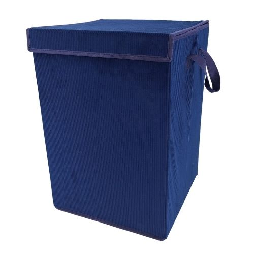 Home Collection Cord Laundry Box Assorted Colours
