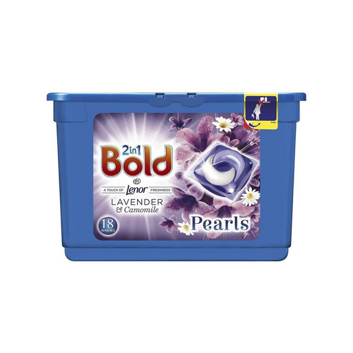 Bold 2in1 Lavender and Camomile Pearls 18 Washes