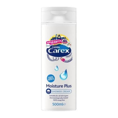 Carex Moisture Plus Shower Gel Cream 500ml