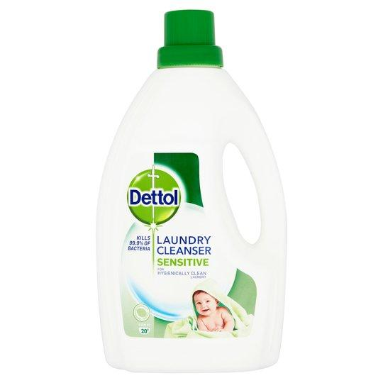 Dettol Liquid Laundry Cleanser Sensitive 1.5 Litres - FabFinds