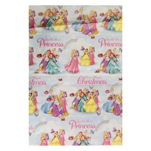 Disney Princess Christmas Wrapping Paper 3M
