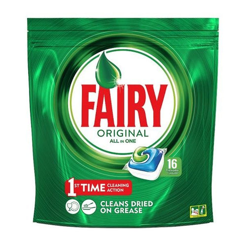 Fairy Original All in One Dishwasher Tablets 16's
