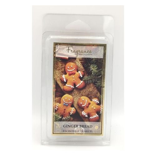 Fragrance Ginger Bread Scented Wax Melts 8 Pk