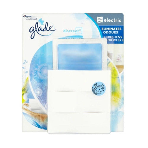 Glade Discreet Electric Clean Linen Plug In Air Freshener 8g