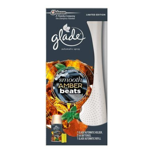 Glade Smooth Amber Beats Automatic Spray Holder 269ml - FabFinds