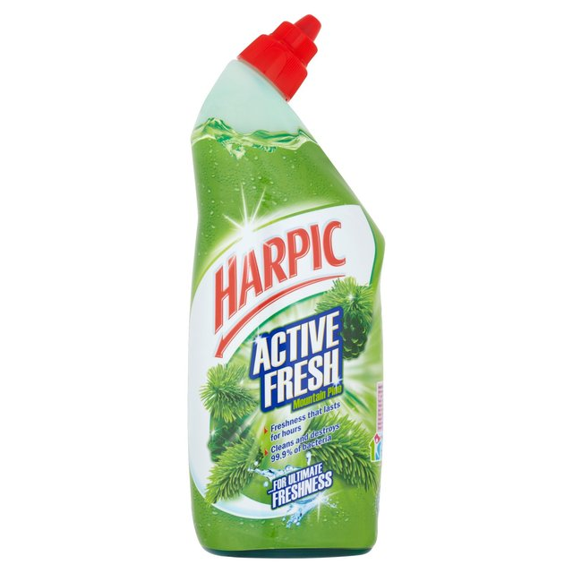 Harpic Active Toilet Cleaning Gel Fresh Power Pine 750ml - FabFinds