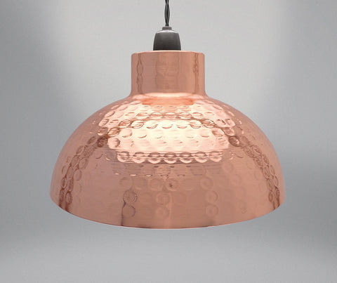 Industrial Dome Pendant Light Shade