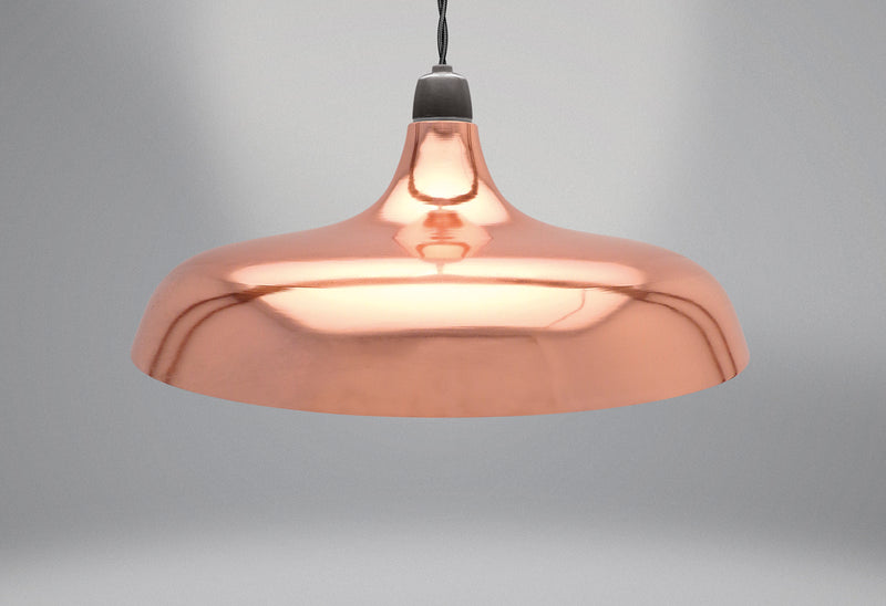 Coolie Dome Retro Pendant Light Shade - FabFinds