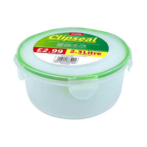 Castle Clipseal Food and Freezer Storage Tub 2.3 L