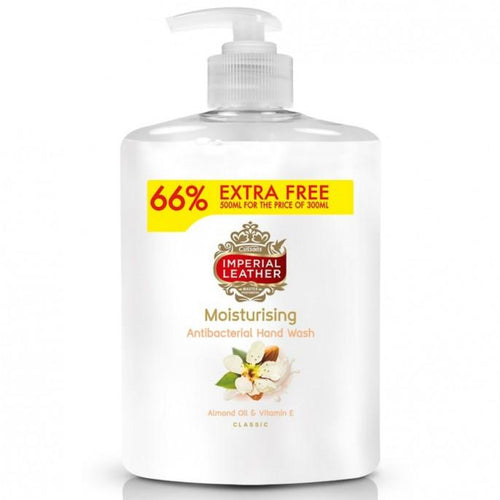 Imperial Leather Handwash Moisturising 300ml + 66% Extra