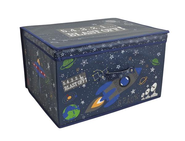 Jumbo Printed Space Theme Kids' Storage Chest - FabFinds