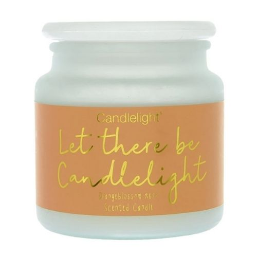 Let There Be Candlelight Large Pot Candle Orange-blossom Musk Scent