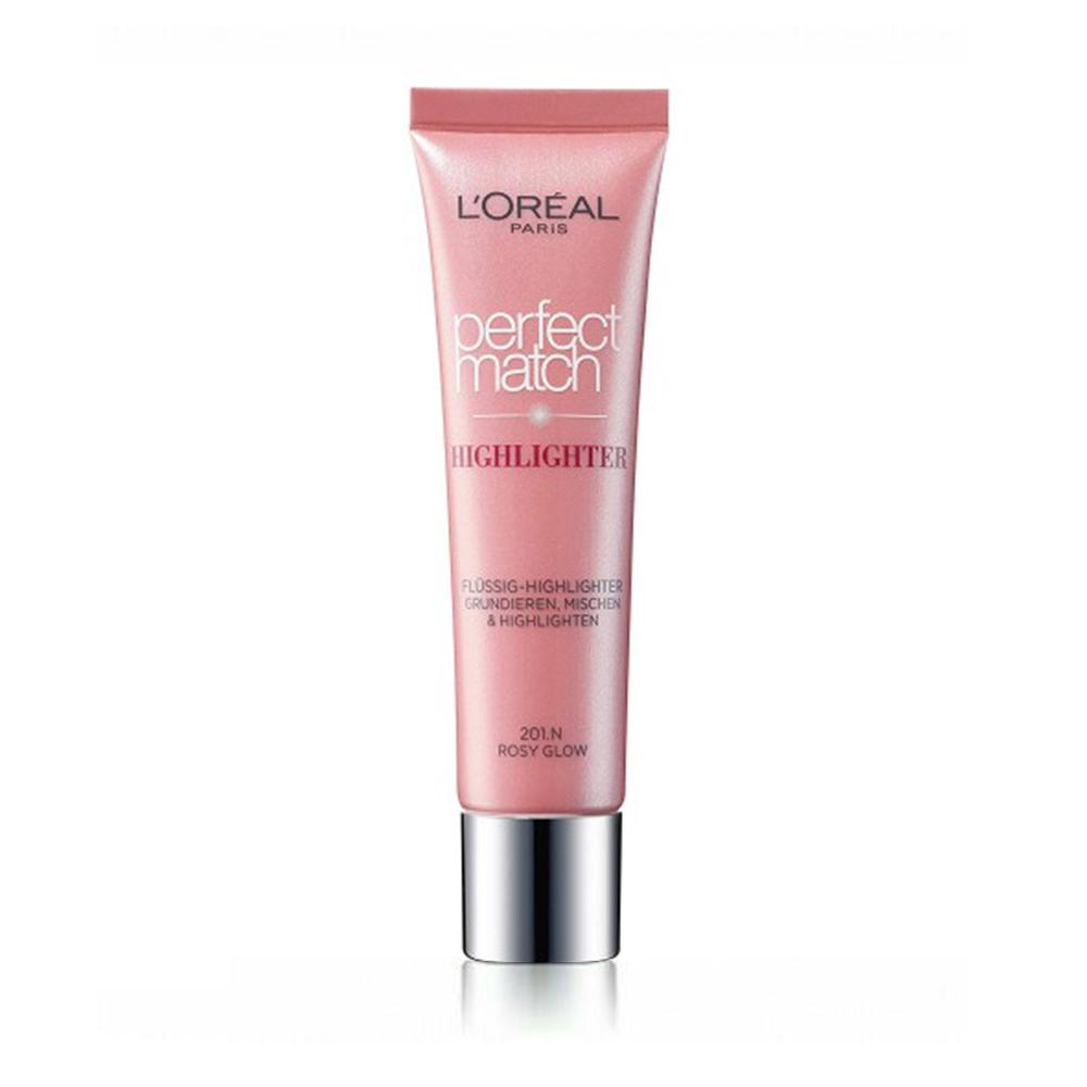 L'Oreal Perfect Match Golden Highlighter Rosy Glow 201.N - FabFinds