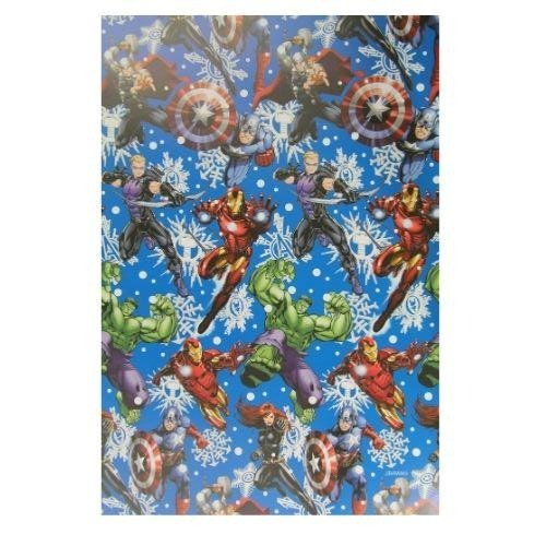 Marvel Avengers Christmas Wrapping Paper