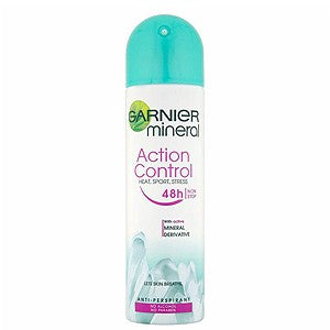 Garnier Mineral Action Control Deodorant Spray 48hr 150ml - FabFinds