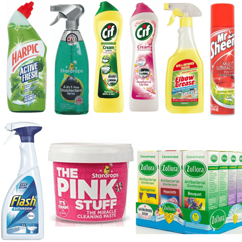 Mrs Hinch Home Cleaning Essentials Bundle 8 Piece