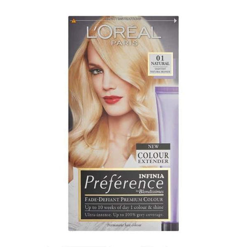 L'Oreal Paris Preference Infinia Colour Booster Hair Dye Ultra Light