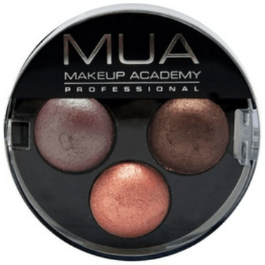 MUA Trio Eyeshadow Palette - FabFinds