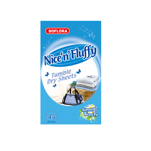 Nice 'N' Fluffy Tumble Dryer Sheets 45 Pack - FabFinds
