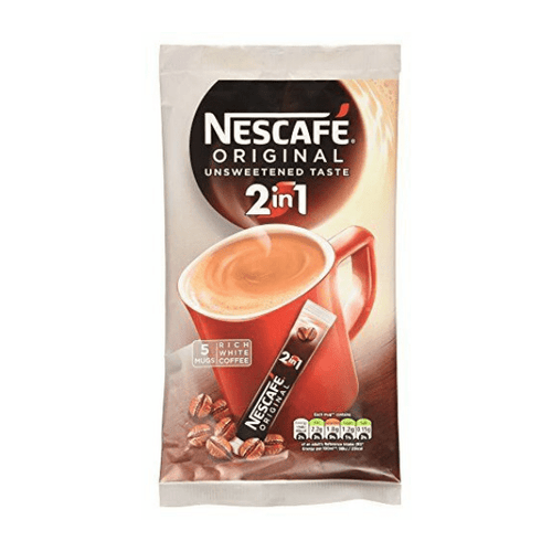 Nescafe Original 2 in 1 Instant Coffee Sachets 55 Sachets