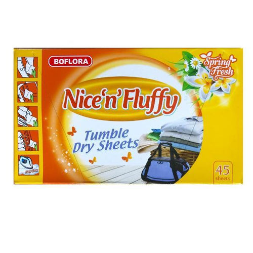 Nice 'N' Fluffy Tumble Dryer Sheets Summer Fresh 45
