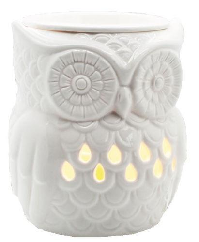 Airpure The Owl Electric Wax Melter Warmer with Backlight