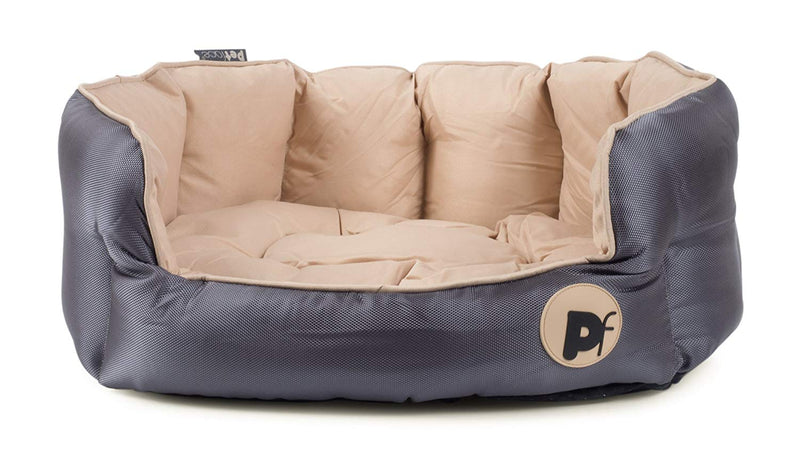 Petface Waterproof Oxford Oval Bed Extra Large - Cream - FabFinds