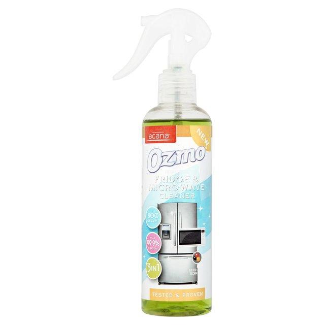 Ozmo Antibacterial Fridge and Microwave Cleaner Spray 250ml - FabFinds