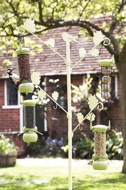 Petface Wild Bird Feeder Tree in Vintage Cream