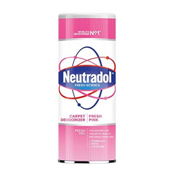 Neutradol Fresh Pink Carpet Freshener Deodoriser Powder 350g - FabFinds