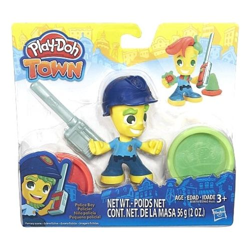 Play-Doh Town Police Boy Kit