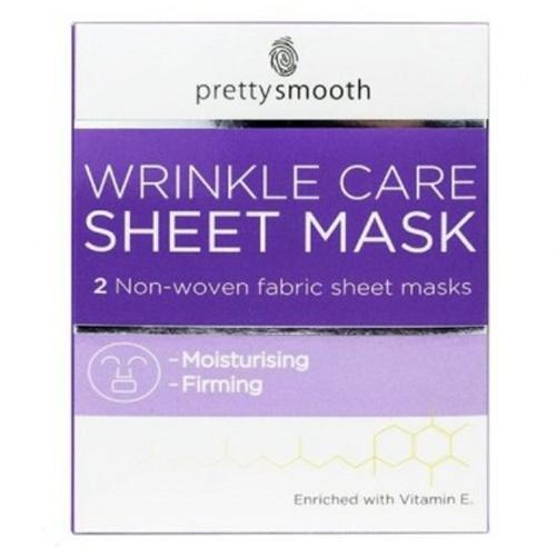 Pretty Smooth Wrinkle Care Face Sheet Mask
