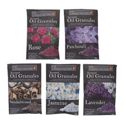 The Candle Factory Scent Sachet Oil Granules 50g