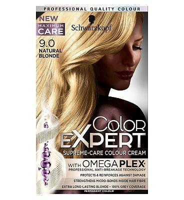 Schwarzkopf Color Expert Hair Colour Natural Blonde 9.0 - FabFinds