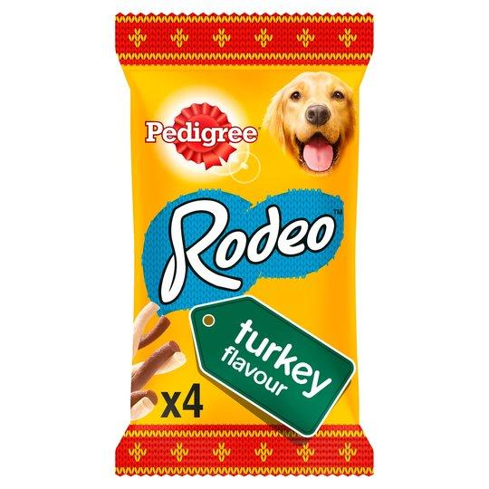 Pedigree Rodeo Turkey Dog Treats 4 Pk - FabFinds