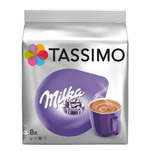 Tassimo Milka Chocolate Hot Chocolate Pods 8 Pack