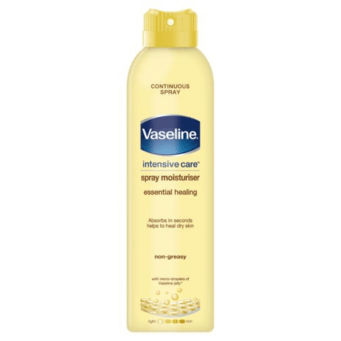 Vaseline Spray & Go Essential Healing Lotion 190ml - FabFinds