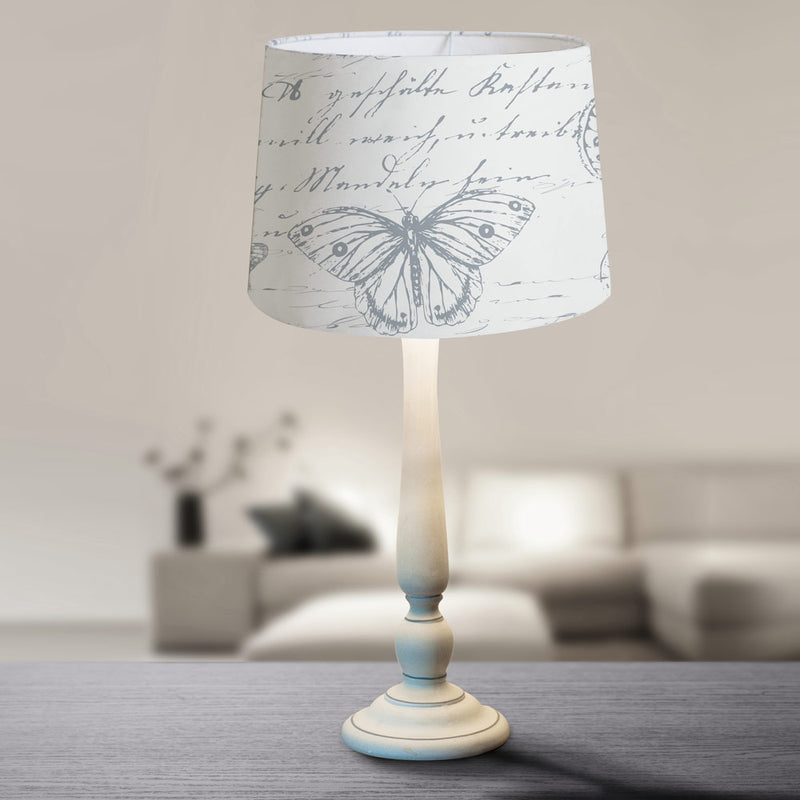 Vintage Heart Scroll Lamp - FabFinds