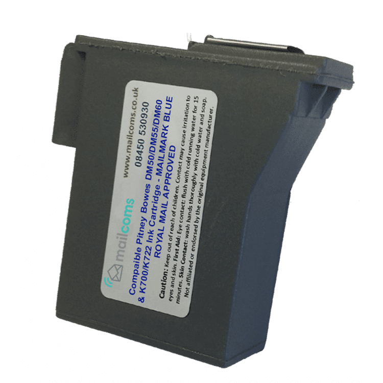 Pitney Bowes DM50 / DM55 Compatible Blue Ink Cartridge - Replacement Pitney Bowes 797-0SB