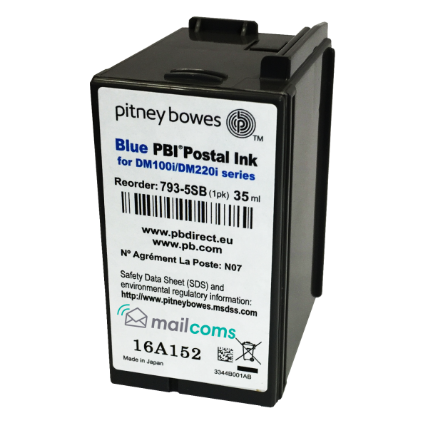 Pitney Bowes SendPro C Original Ink Cartridge  - Replacement Pitney Bowes 793-5SB