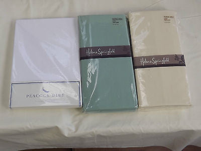 "Single brushed cotton flannelette fitted sheet 3' x 6'3"" bed"
